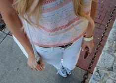 White Skinny Jeans for Spring!