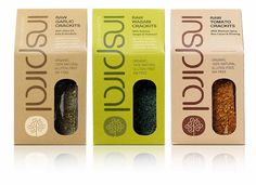 Inspiral's New Branding is Streamlined and Sustainable #healthy trendhunter.com