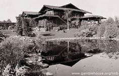"""The Gamble House, built by architects Greene and Greene in 1908, is considered one of the most architecturally significant historic homes in America--but it gained movie immortality as the residence of Doc Brown in """"Back To The Future."""""""