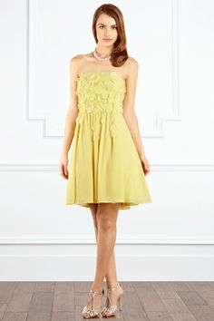 Yellows Vielle Dress from Coast £160