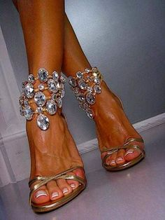 A candidate for Mother of the Groom shoes..