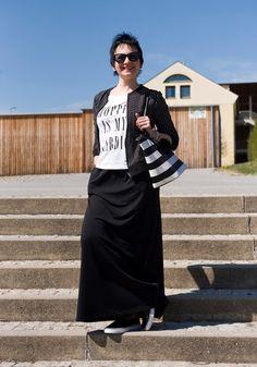 Lena's Modeblog: Maxirock casual