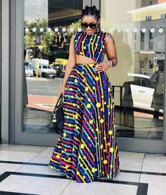 Ankara Clothing, African Print, Ankara Dress - Women's style: Patterns of sustainability African Dresses Plus Size, African Dresses For Kids, African Maxi Dresses, African Fashion Ankara, Latest African Fashion Dresses, Ankara Dress, African Print Fashion, African Attire, Ankara Fabric