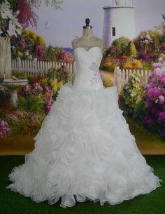robe de mariée princesse thème floral