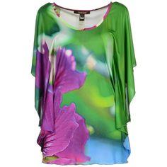 ROBERTO CAVALLI Short sleeve t-shirt ($648) ❤ liked on Polyvore