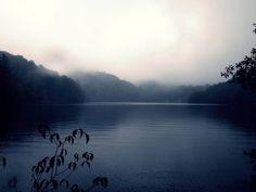 foggy Plitvice Lakes, Croatia