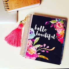 Erin Condren  Happy Planner Cover: Personalized by StylishPlanner