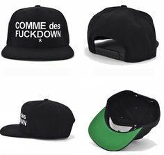 Comme Des F* Down Snapback