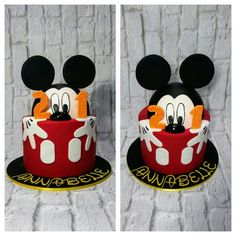 Annabelle's Micky Mouse Cake
