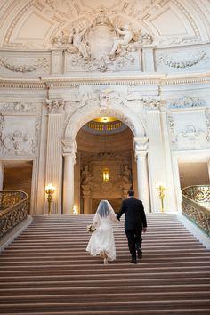 The San Francisco City Hall wedding of Kana and Scott.