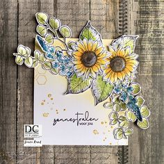 February 6th, Flower Cards, Card Making, In This Moment, Creative, Colors, Stamps, Seals, Colour