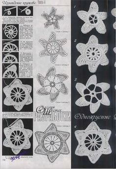 Дуплет спецвыпуск - agulhasfashion2 - Picasa Web Albums Irish crochet motif chart pattern free flower, star