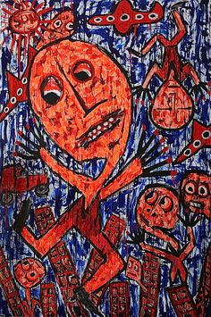 Abstract art, Visual artist – Johan Wahlstrom