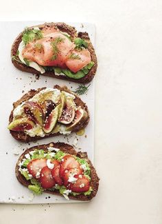 Toasts. food photography, food styling, learn food photography