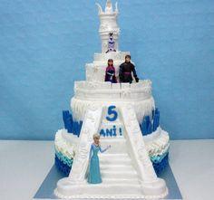 Tarta castillo de Frozen.