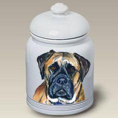 Bullmastiff Dog Cookie Jar by Barbara Van Vliet Best of Breed http://www.amazon.com/dp/B007CKIL5M/ref=cm_sw_r_pi_dp_o1kVtb1K0P3YEFHW