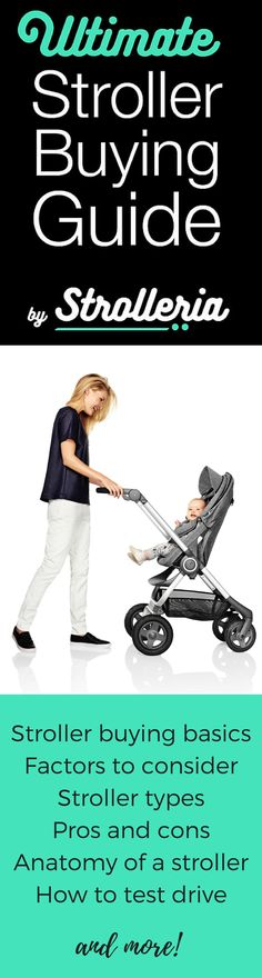 Confused about which stroller to buy? Let the experts at Strolleria help! This in-depth stroller buying guide covers stroller types, factors to consider, how to test-drive a stroller and much more.