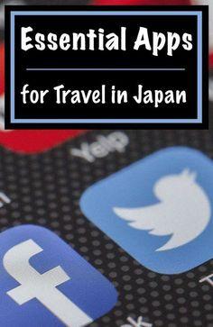 Essential Apps for Travel in Japan | Footsteps of a Dreamer #japantravel