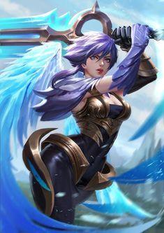 Dawnbringer Riven | Ривен @League of Legends | Лига Легенд #LoL #ЛоЛ