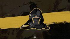 Image result for ninja mascot logo Frank Album, Ninja Logo, Sports Logo, Darth Vader, Logos, Image, Fictional Characters, Design, Logo