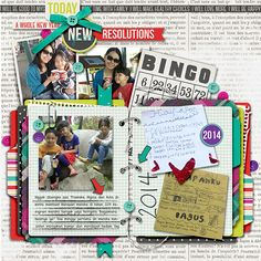 layout by swastinadia Kit : [every day] january is by Lauren Grier from www.sweetshoppedesigns.com Template : Journal Template by Kimeric Kreations #digitalscrapbooking #scrapbook #resolutions