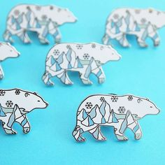 #pinoftheday - @natelledrawsstuff Good morning all!  Hope everyone had a great weekend and that y'all are ready to tackle the new week! Also, SNEAK PEEK at my next pins dropping THIS FRIDAY the 26th ❄ #sneakpeek #flair #cute #bears #polarbear #polarbears #kawaii #toocute #loveanimals #snow #arctic #snowflake #animal #animals  #AColorStory #abmlifeissweet #flashesofdelight #art #design #designer #pingame #illustration #illustrator #enamelpin #enamelpins #lapelpin #lapelpins #pin #patchgame