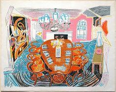 David Hockney Tyler Dining Room