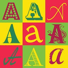 the letter A | Inkblot Paper Designs: The Letter A