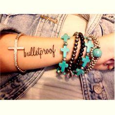 Bulletproof tattoo. #strong #fearless #tattoos