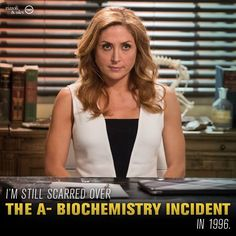 """Maura: """"I'm still scarred over the A- Biochemistry incident in 1996."""" #Rizzoli&Isles"""