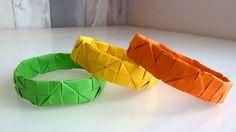 DIY: Aprende a hacer tus propias pulseras con origami