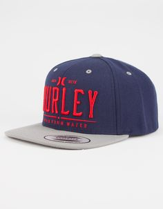 944ae701153 HURLEY All Day Mens Snapback Hat - DKBLU - 266526213