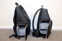 Lowepro fastpack 200 backpack with sling access & without the annoying waist strap