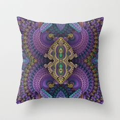 Extravaganza Throw Pillow by Lyle Hatch - $20.00