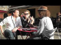 Interview Julie Gayet et Franck Finance-Madureira à l'occasion de la Queer Palm 2012