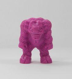 Monster In My Pocket - Series 1 - 4 Behemoth - Neon Purple NP