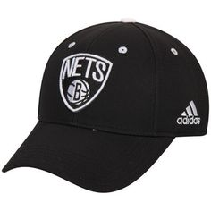 Nba Brooklyn Nets Adidas Adult Adjustable Fit Structured Cap Hat Beanie New Sporting Goods Basketball