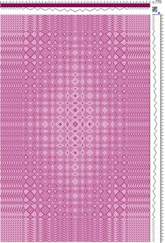 Draft for Fancy Lace & Spot Weave Variation