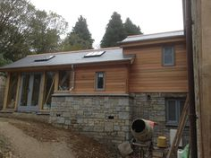 Nearing completion. Roderick James Architects