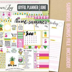 Digital Scrapbooking Kit | Joyful Planner | ForeverJoy Designs