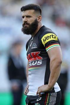 Josh Mansour Photos Photos: NRL Rd 13 - Bulldogs v Panthers Muscle Men Bulge, Hot Rugby Players, I Love Beards, Crew Team, Australian Football, Soccer Guys, Hard Men, Rugby League, Raining Men