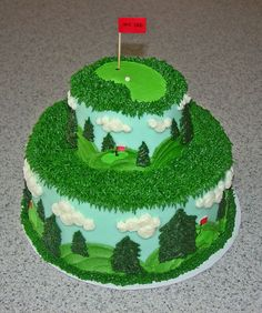 Golf  Father's Day cake