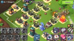 Boom Beach Dr T attack stages 1 to 7 walkthrough
