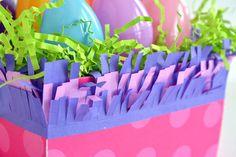 DIY Template Studio Easter Basket by Amanda Coleman for We R Memory Keepers Mini Pinatas, Balloons And More, We R Memory Keepers, Easter Baskets, Diy Party, Amanda, Memories, Templates, Studio