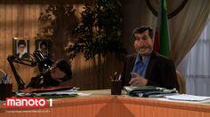 احمدینژاد و مشایی در دفتر کار دولت