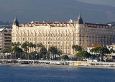 InterContinental Carlton Cannes, France, had a great stay there on the Riviera.