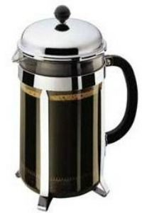 The most popular coffee maker in Europe and Australia is the classy French Press Coffee Pot. T