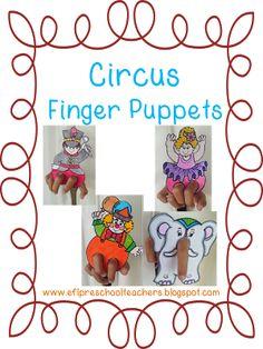 ESL/EFL Preschool Teachers Circus Theme