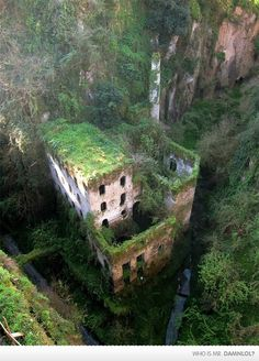 Abandoned Mill Built In 1866, Sorrento, Italy