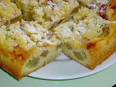 Rhabarberkuchen mit Quarkcreme und Streuseln, ein sehr leckeres Rezept aus der Kategorie Kuchen. Bewertungen: 326. Durchschnitt: Ø 4,6.